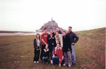 Mont Saint-Michel, March 2003
