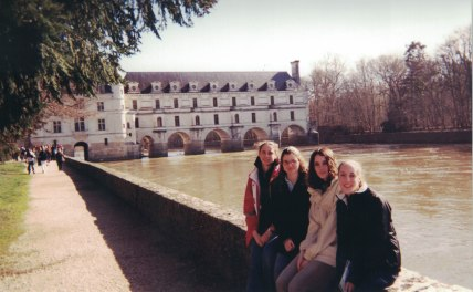 Chenonceau, March 2003