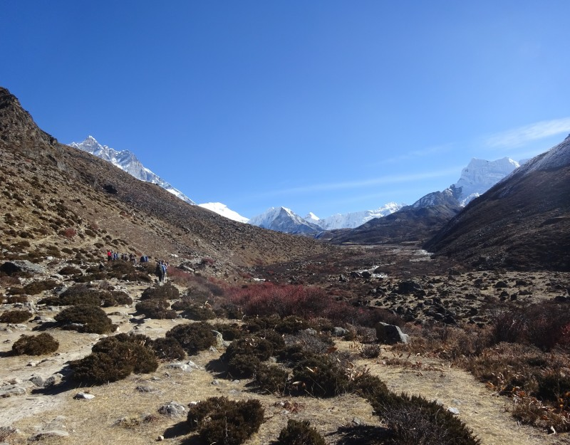 Hike from Dingboche