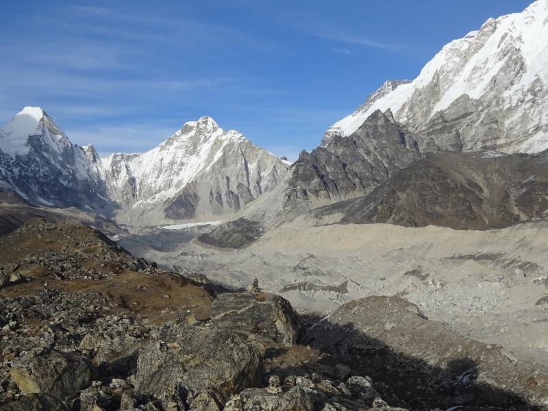 Khumbu glacier near Lobuche