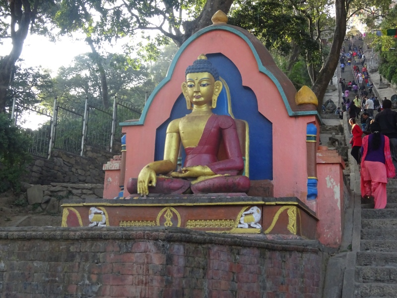 Buddha at the entrance