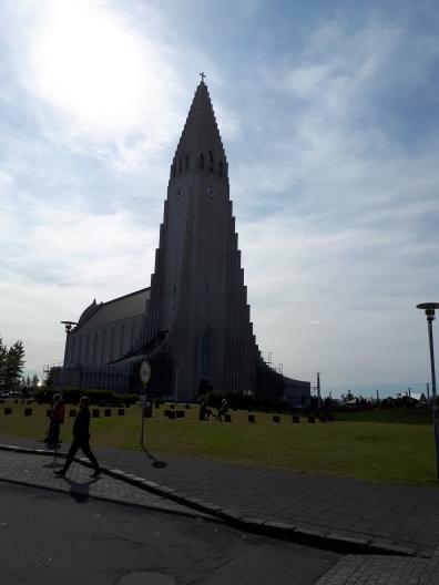 Hallgrímskirkja, the Lutheran church