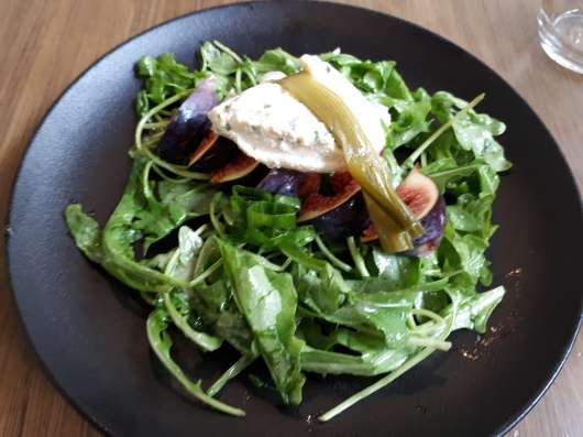 Goat cheese salad!
