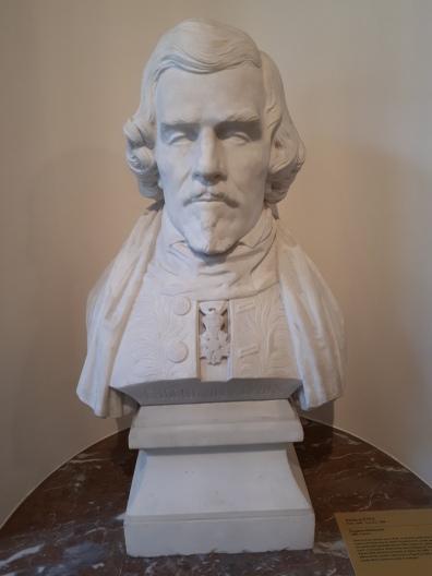 Bust of Eugène Delacroix